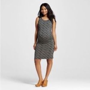 Liz Lange for Target geo midi tank dress sz s